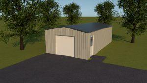 5x10x2,5 hal, loods, schuur, garage